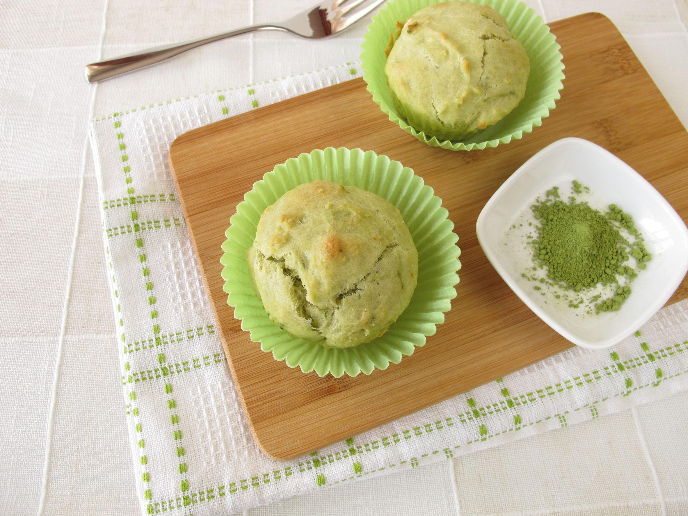 Muffin al tè matcha… Da provare!