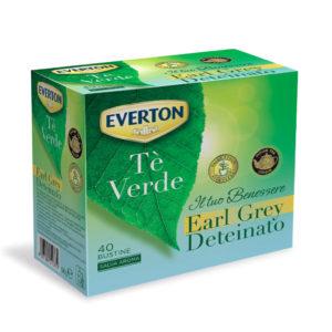 Tè Verde Earl Grey Deteinato
