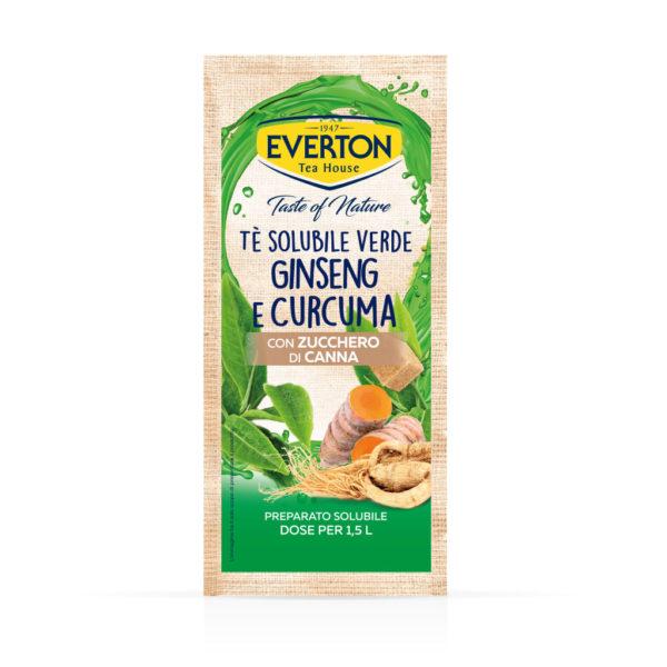 Tè Solubile Verde Ginseng e Curcuma