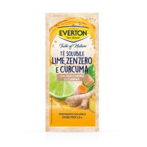 Tè Solubile Lime Zenzero e Curcuma con Zucchero di Canna