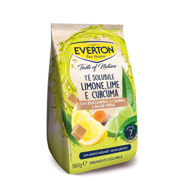 Tè solubile Limone Lime Curcuma